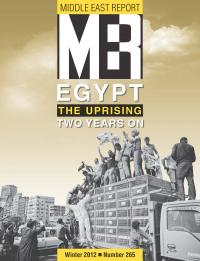A special issue of MERIP on the Egyptian revolution includes four open-access articles