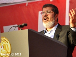 Mohammed Morsi. Photo Credit: Jonathan Rashad via Compfight cc