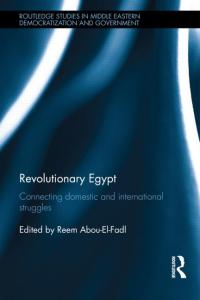 I have a chapter in this new book on the Egyptian revolution.
